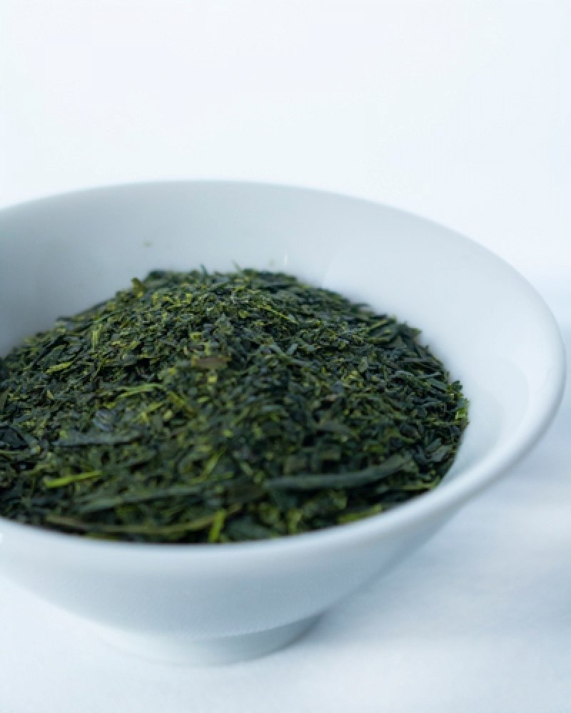 deep steamed sencha tea