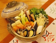 Dashi nabe with【seafood】