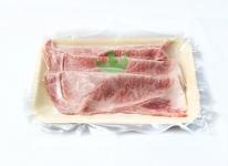 Sliced Ozaki Wagyu beef ribs
