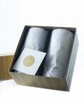 CHOJU-GIGA Frothing Beer Glass M Pair Set Aderia Japan