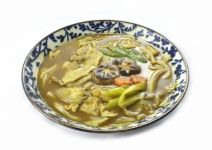 Curry-Udon with pork
